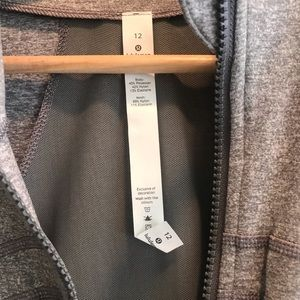 Lululemon Define Jacket NWT 12 HEATHERED SLATE